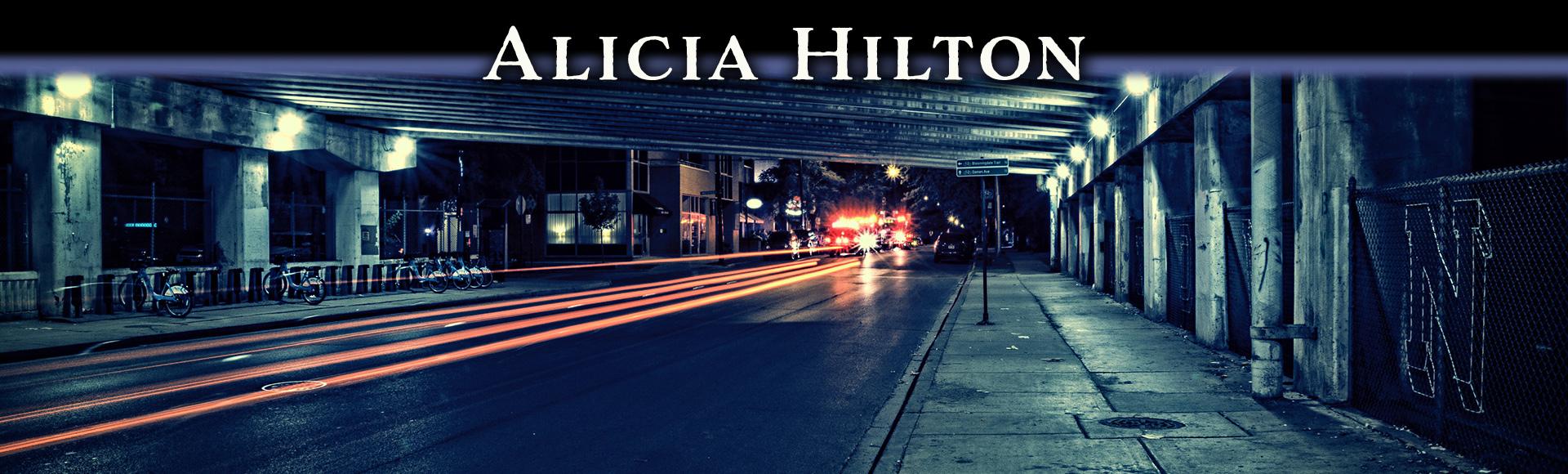 Author Alicia Hilton